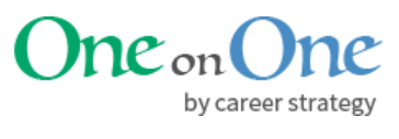 Career Strategy One on One